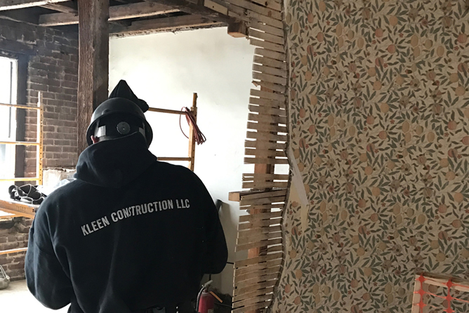 Kleen Construction On Site